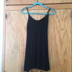 BLACK SKATER DRESS SIZE S